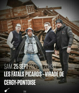Concert des Fatals Picards au Forum de Vauréal