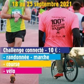 Pas présent le 25 septembre à Cergy-Pontoise ? Pensez au challenge connecté !