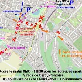 Conditions d'accès aux épreuves sportives – Virade de Cergy-Pontoise édition 2021